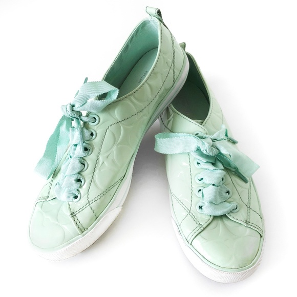 Coach Shoes | Coach Suzzy Mint Green